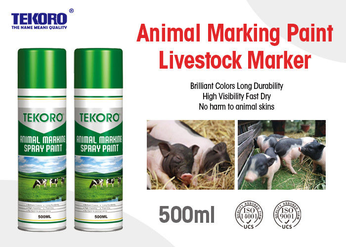 Environmental Friendly Animal Marking Paint Suitable For Pig / Cattle / Sheep